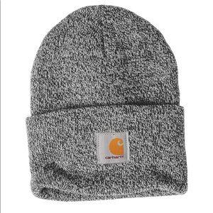 new • carhartt foldover rib knit beanie hat